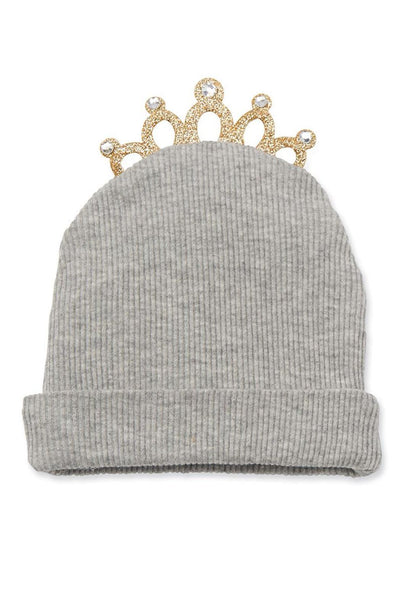 Mud Pie Tiara Hat Grey
