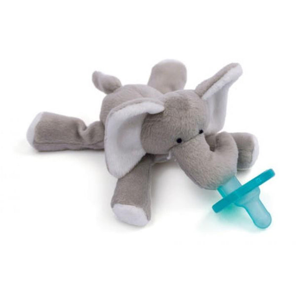 WubbaNub Grey Elephant Pacifier