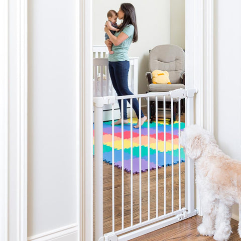 Qdos Auto-close Gate (White)