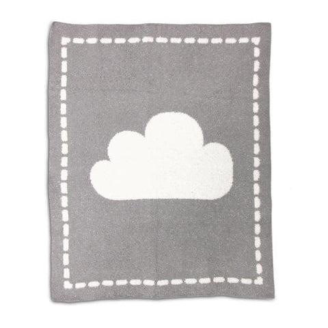 Living Textiles Cozy Blanket Grey Cloud