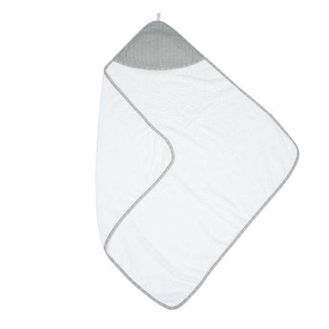 Juddlies Hooded Towel Driftwood Grey