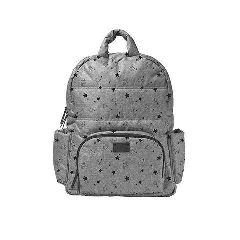 7am Enfant Mini Backpack Heather Grey Stars