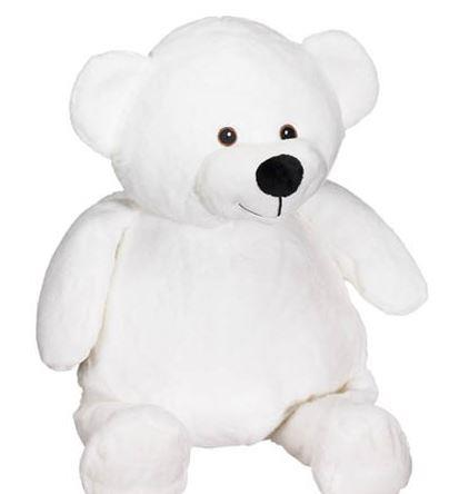 Embroidery Buddy Mister Buddy Bear White