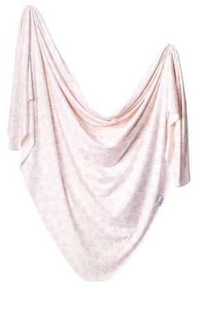 Copper Pearl Swaddle Blanket Lola
