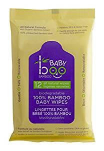 Baby Boo Wipes 12pk