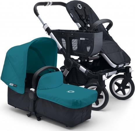 Bugaboo Donkey Tailored Fabric Set Petrol Blue