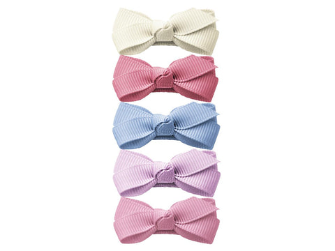 Baby Wisp Small Snap Chelsea Boutique Bows 5 pack Royal Family