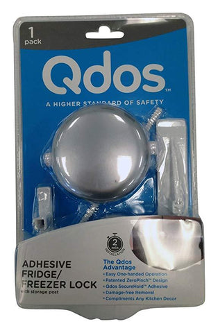 Qdos Adhesive Fridge/Freezer Lock