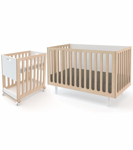 Oeuf 2 in 1 Fawn Crib & Bassinet System