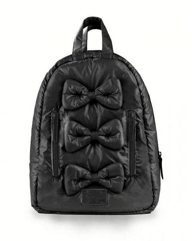 7am Mini Bows Backpack Black