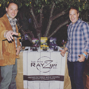 Wine RayZyn - Healthy Superfood Snack Launch