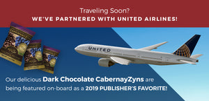 Wine RayZyn Partners with United Airlines!