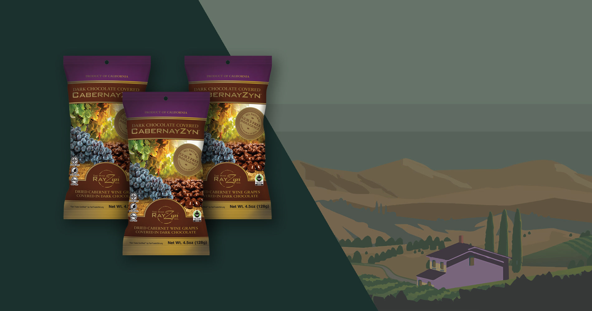 The Wine RayZyn™ Company - Guilt Free Indulgence Snacks