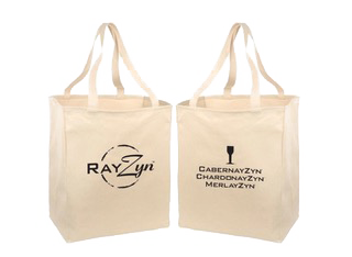 The Wine RayZyn™ Company - Wine RayZyn™ Canvas Tote