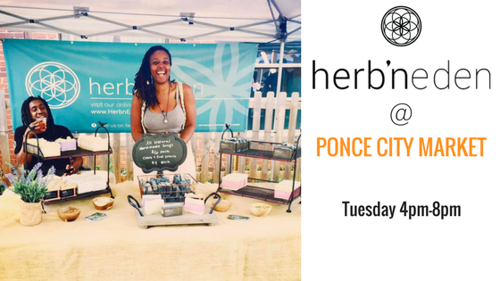 Herb'N Eden at Ponce City Farmers Market