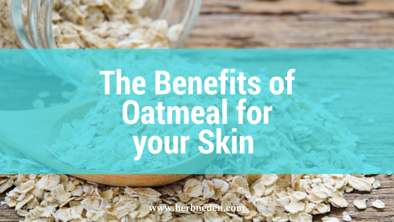 The benefits of Oatmeal for your skin
