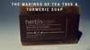 The Makings of Tea Tree & Turmeric soap