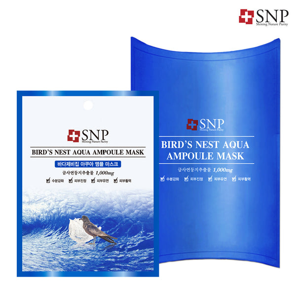 Bird's Nest Aqua Ampoule Mask 10ea