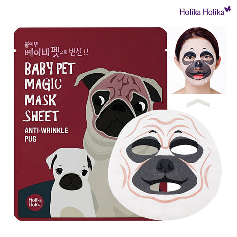 Baby Pet Magic Mask Sheet 22ml #Anti-Wrinkle Pug