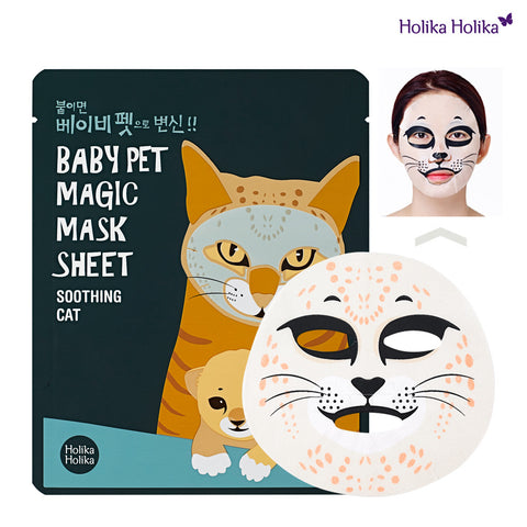 Baby Pet Magic Mask Sheet 22ml #Soothing Cat