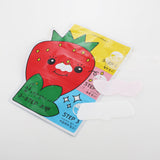 Seedless Strawberry Seeds 3-step Nose Pack