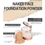 Naked Face Foundation Powder SPF26 PA+ 10g