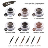 Back Stage Waterproof Gel Eyeliner 4g