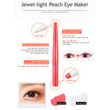 Jewel-Lite Peach Eye Maker