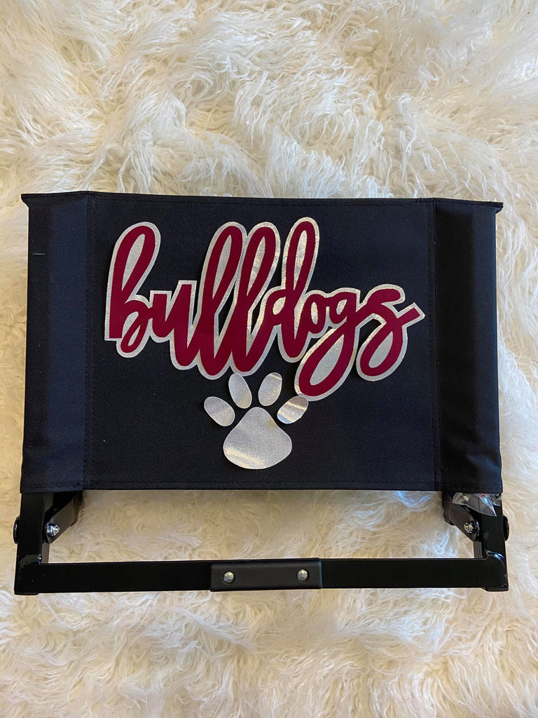BULLDOGS + PAW STADIUM CHAIR