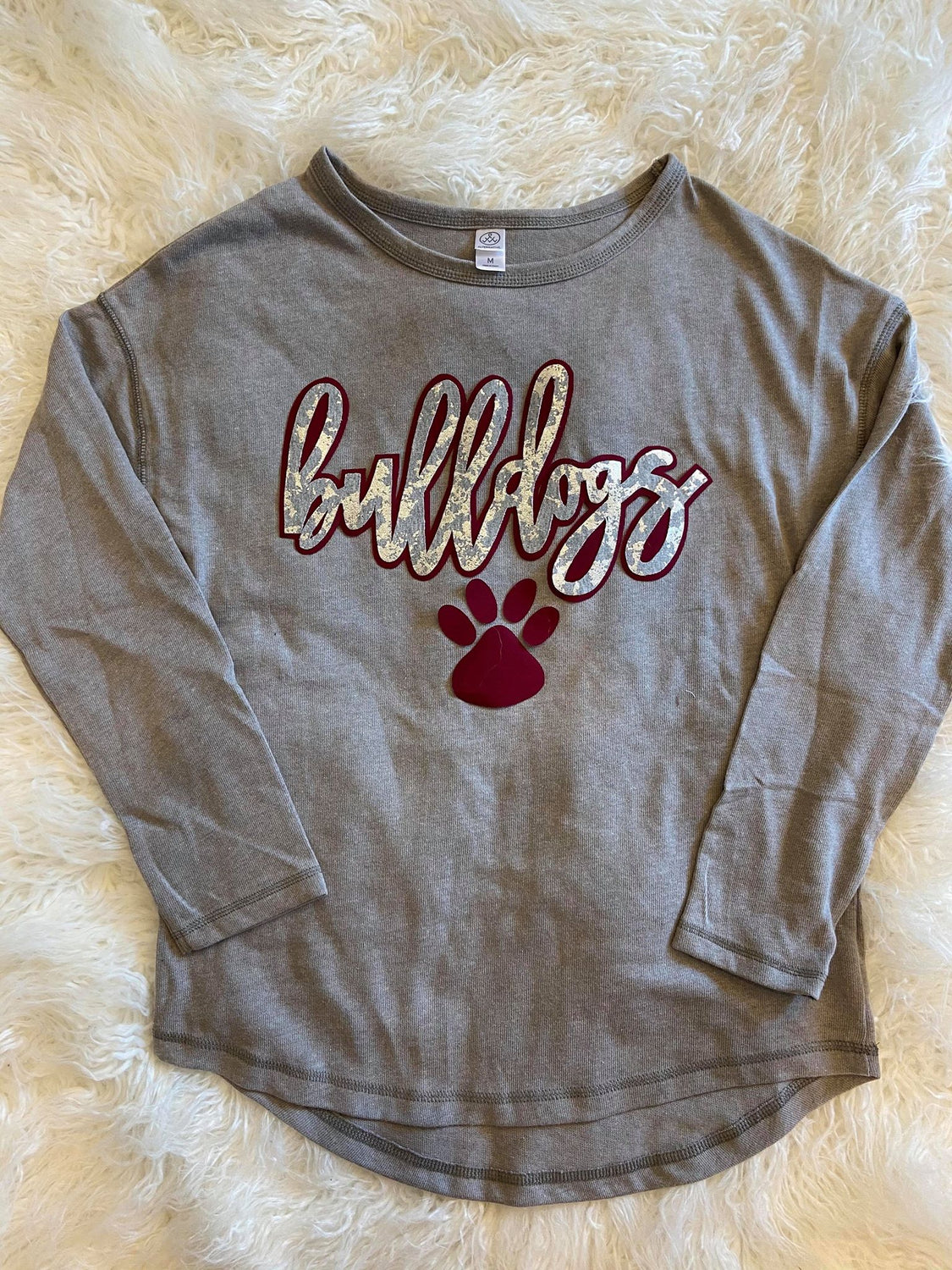 BULLDOGS LONG SLEEVE THERMAL PULLOVER