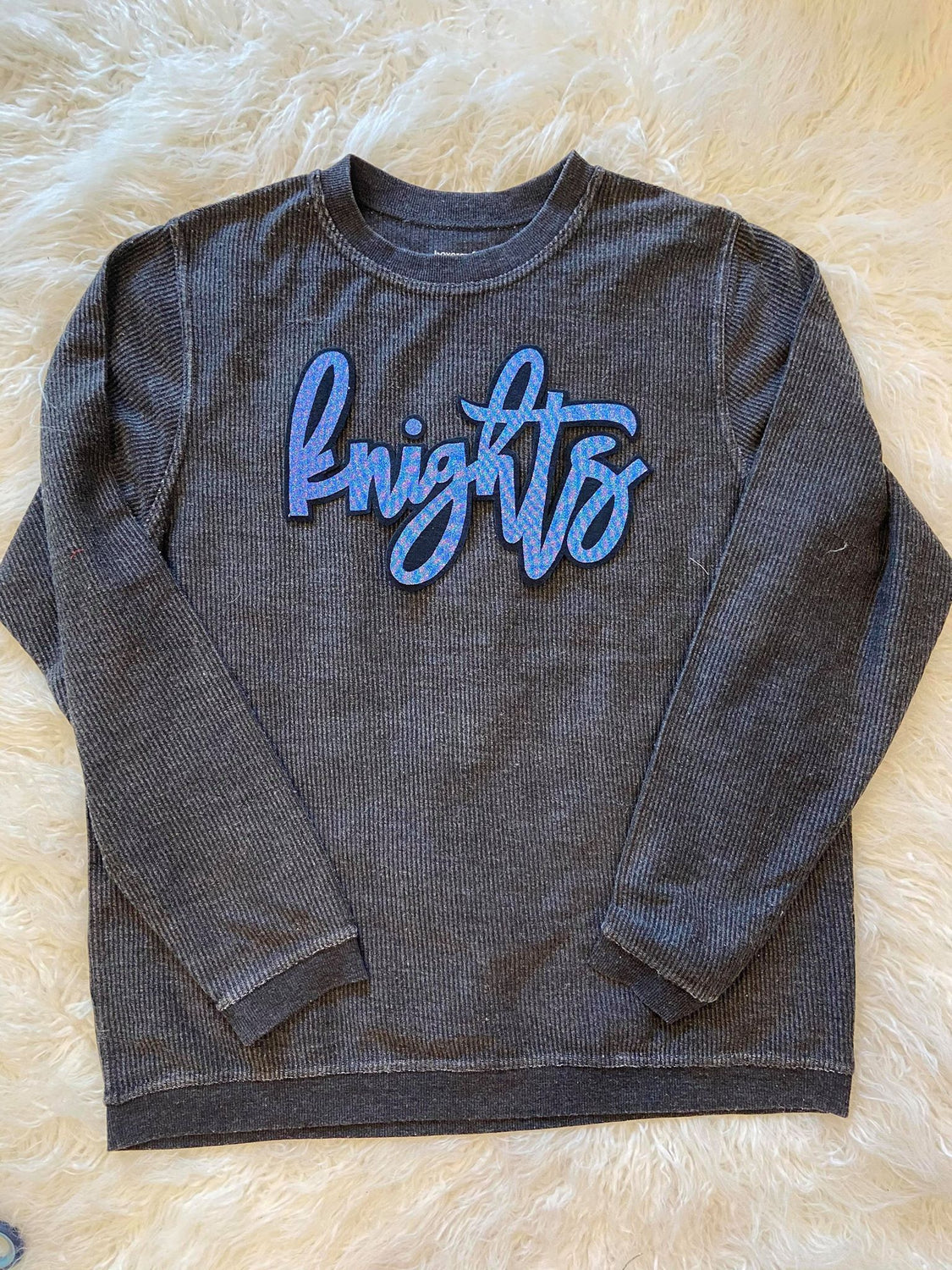 KNIGHTS CORDUROY PULLOVER