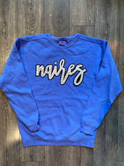 NAIRES - BLUE COMFORT COLORS CREW