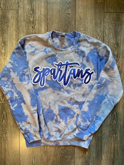SPARTANS - BLUE DYED CREW