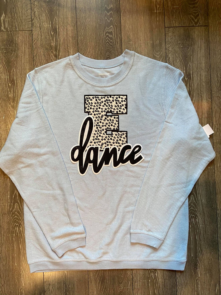 E + DANCE - BLUE CORDUROY THERMAL
