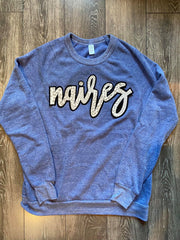 NAIRES - BLUE FLEECE CREW