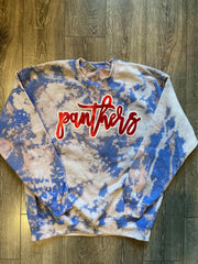 PANTHERS - BLUE DYED CREW