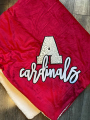 A + CARDINALS - SHERPA BLANKET