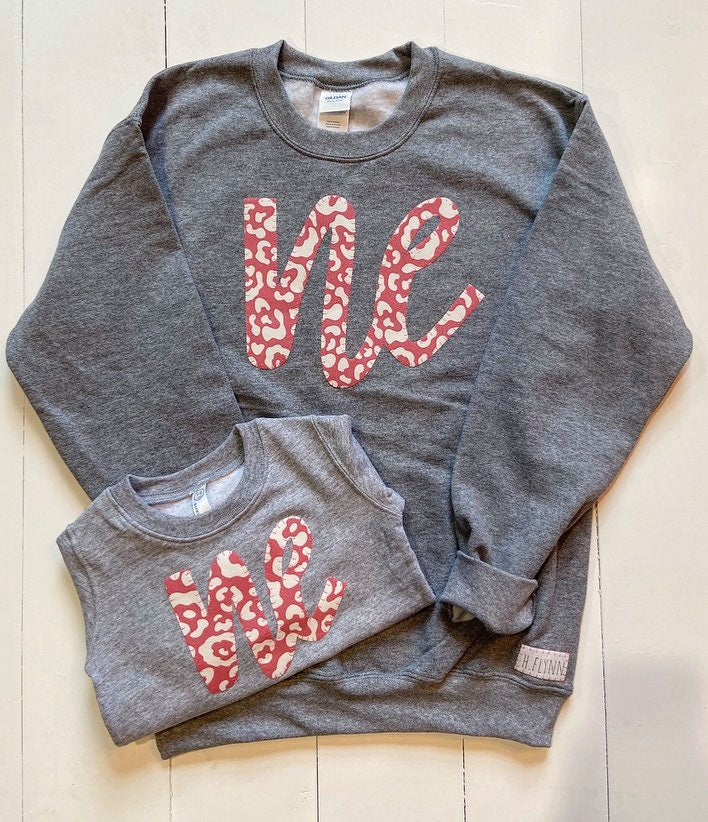 14. CHEETAH NE • GREY CREW • ADULT/TODDLER