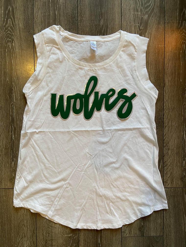 WOLVES - MUSCLE TANK