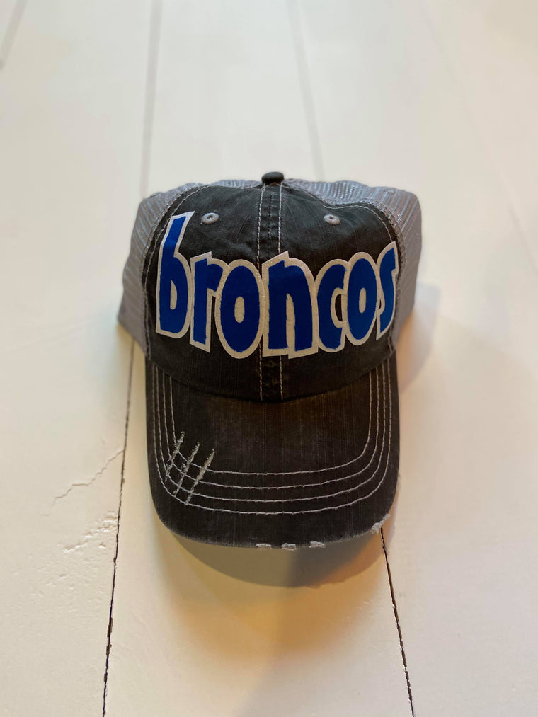 BRONCOS - TRUCKER HAT