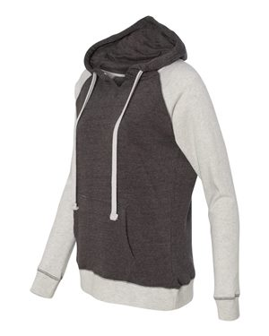WOMEN'S HARPER RAGLAN HOODED PULLOVER