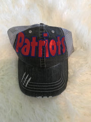 PATRIOTS TRUCKER HAT