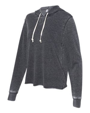 WOMEN'S DAY OFF BURNOUT FRENCH TERRY HOODIE