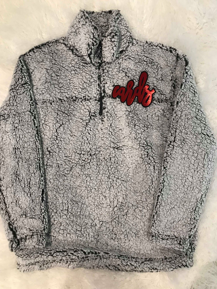 CARDS SHERPA 1/4 ZIP