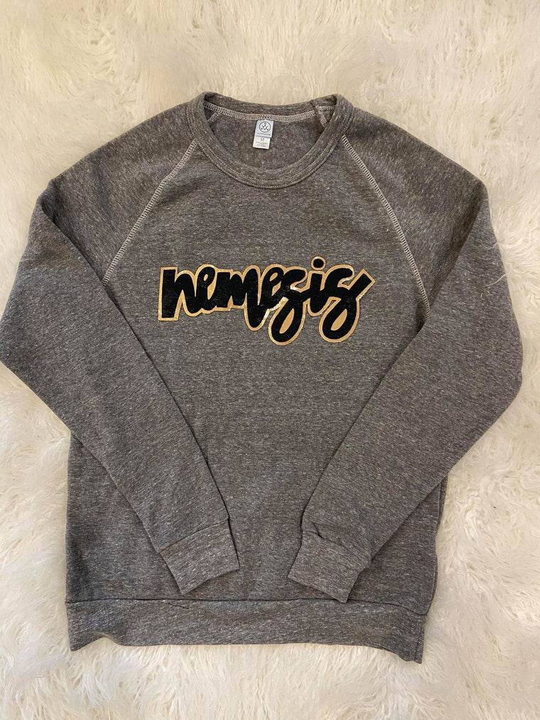 NEMESIS COLORBLOCK FLEECE CREW