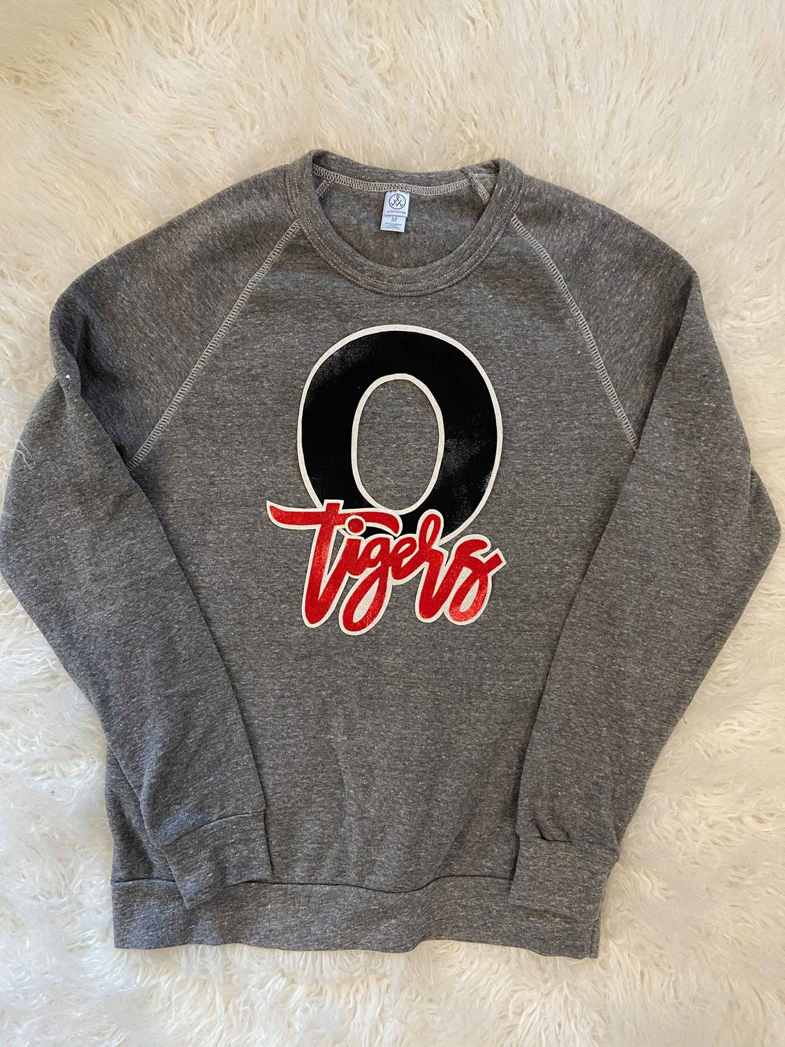 O + TIGERS FLEECE CREW