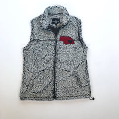 Sherpa Vest with State and Heart