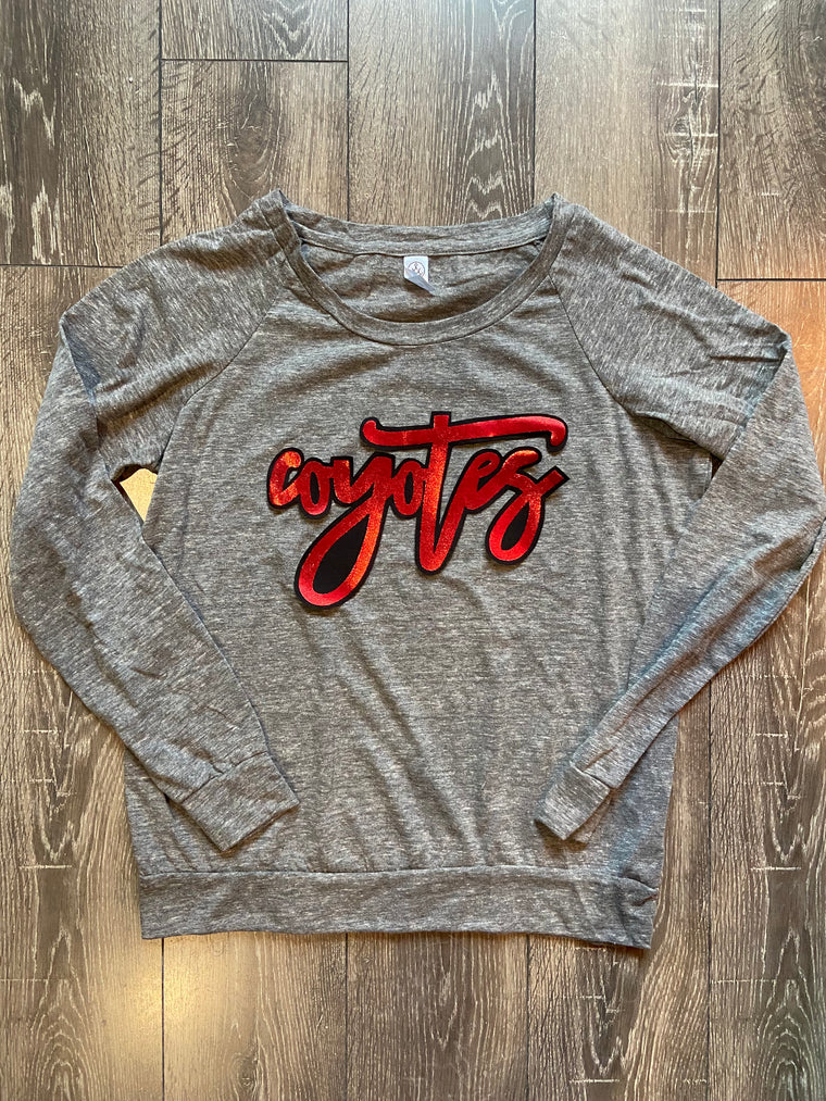 COYOTES SLOUCHY PULLOVER