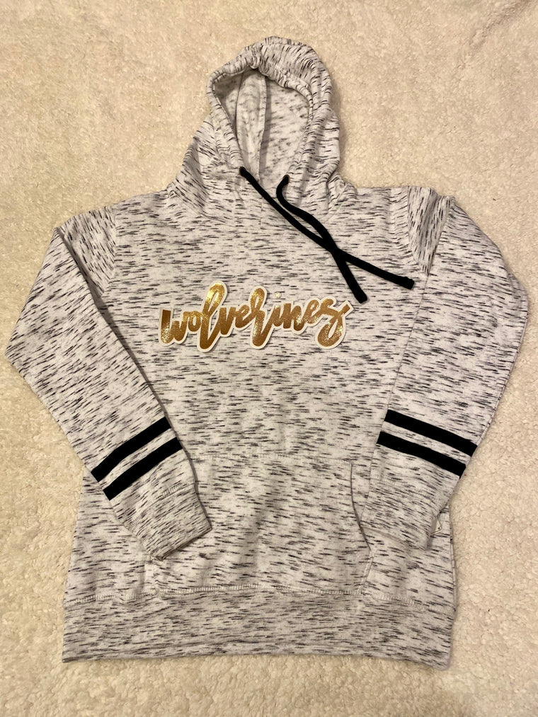 WOLVERINES ATHLETIC HOODIE