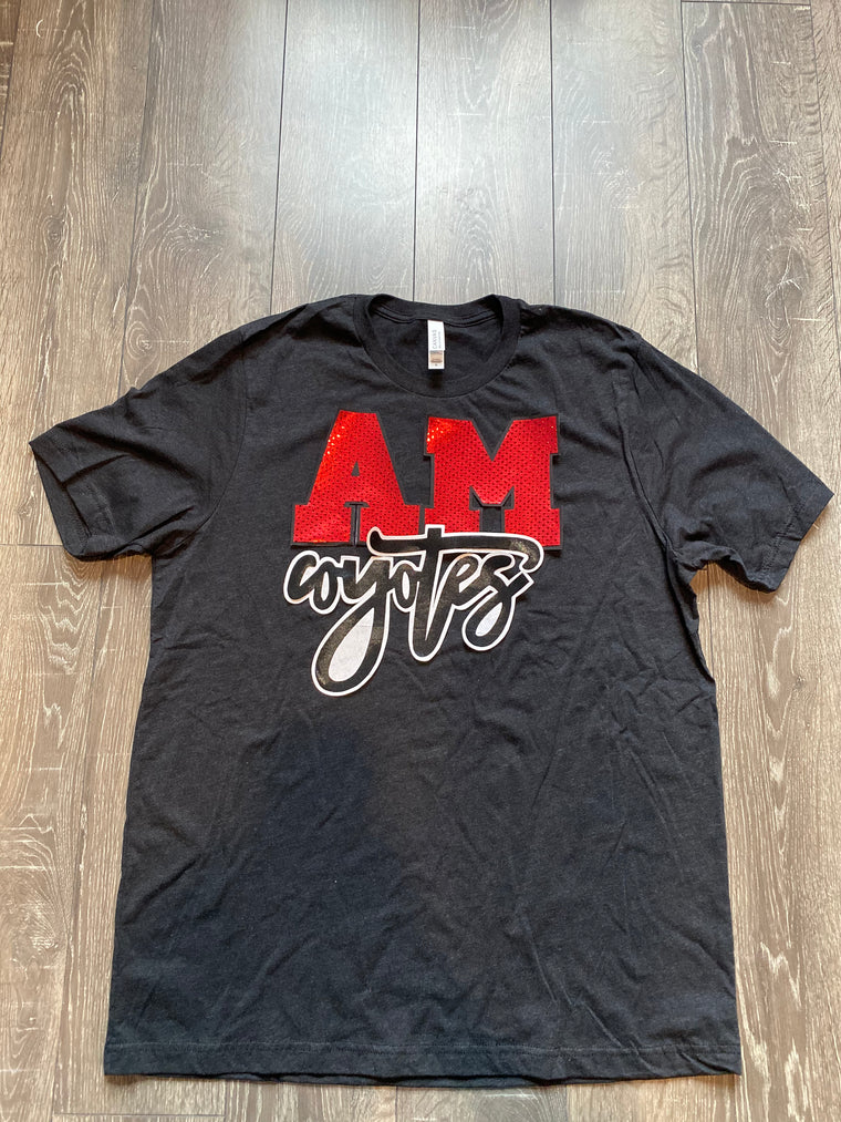 A-M COYOTES UNISEX TEE